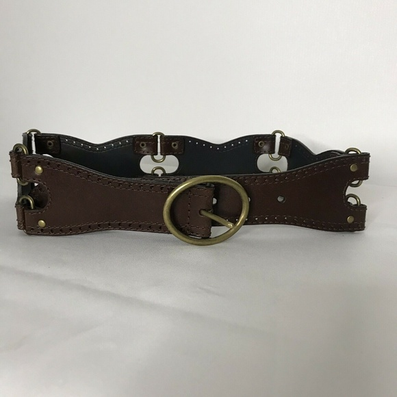 Target Accessories - New Target Leather Belt Womens M Brown Tooled